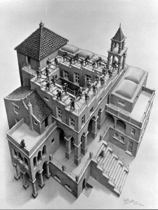 Ascending and Descending - M.C. Escher