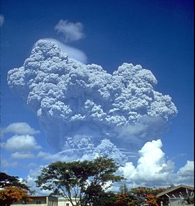 Mount Pinatubo Eruption (Wikipedia)