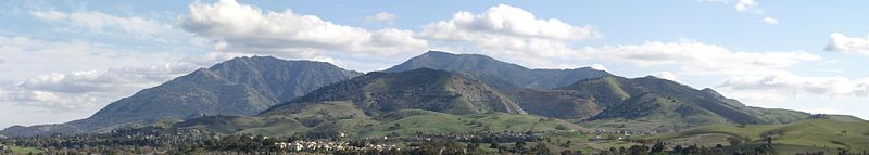 Mount Diablo (Source Wikipedia)