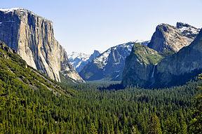Yosemite Valley (Source Wikipedia)