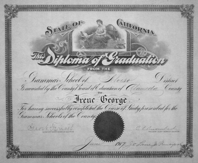 Grandma's Diploma