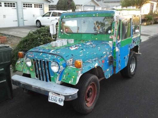 Lego Mail Jeep 1