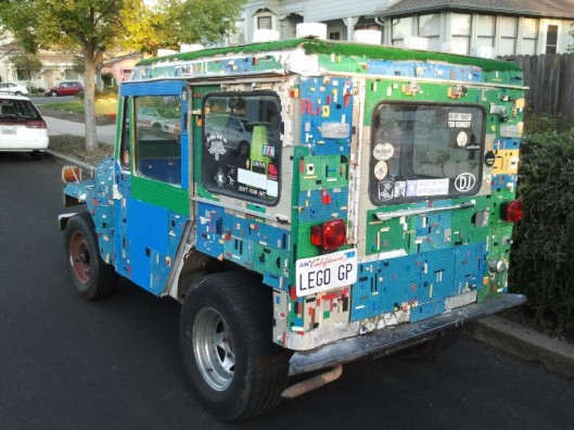 Lego Mail Jeep 2