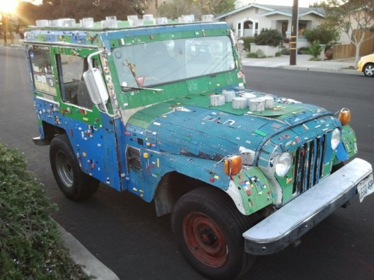 Lego Mail Jeep 3
