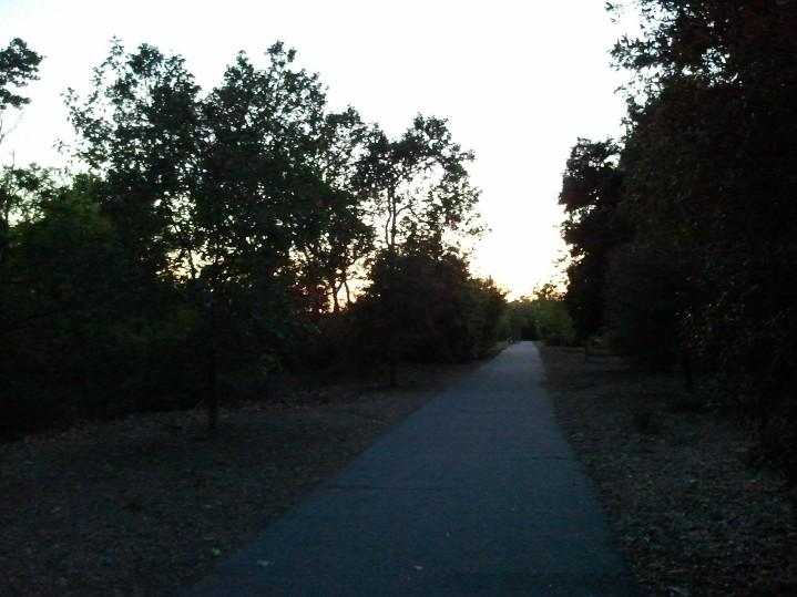 Arroyo Mocho Trail at Sunset