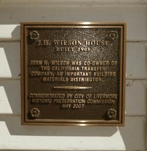 Wilson House Est. 1908