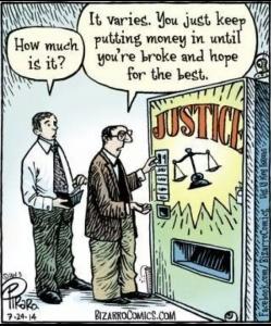 Bizzaro-Justice